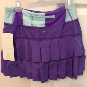 Lululemon Pace Setter Skirt Size 2